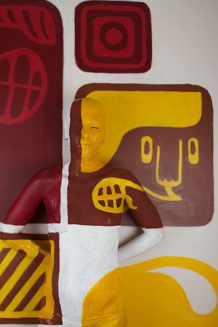 Alison Benhamou. Graffeur : Michel Chrome / Modele : Laila B.