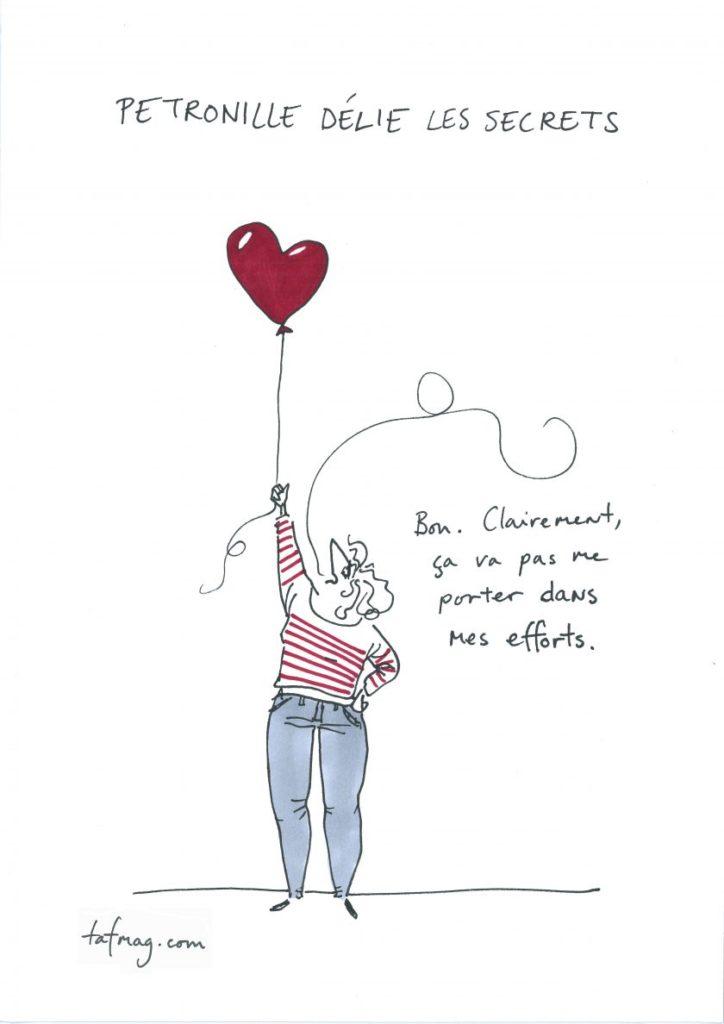 L'amour Petronille Arabella dessin du lundi TAFMAG