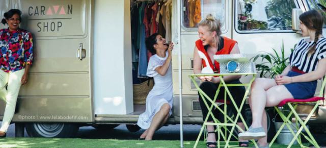 Caravan Shop : le concept inédit d'une mode itinérante