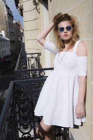 Simone et Louise TAFMAG mode robe-venice