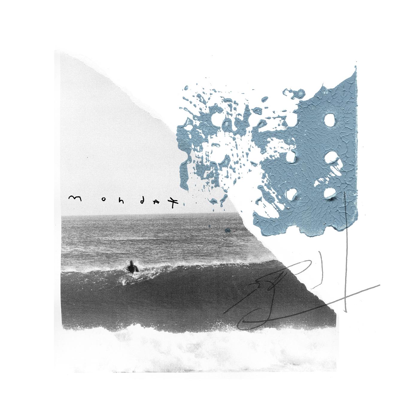 surfeur et sa vague le surf Jeremy Le Chatelier Montréal