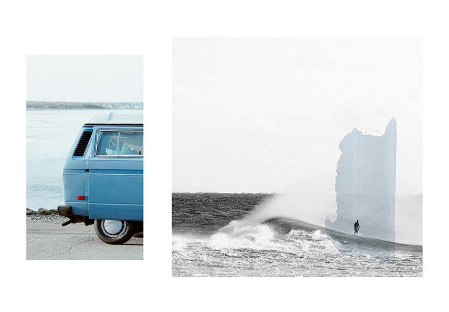 surf Jeremy Le Chatelier Montréal combi VW