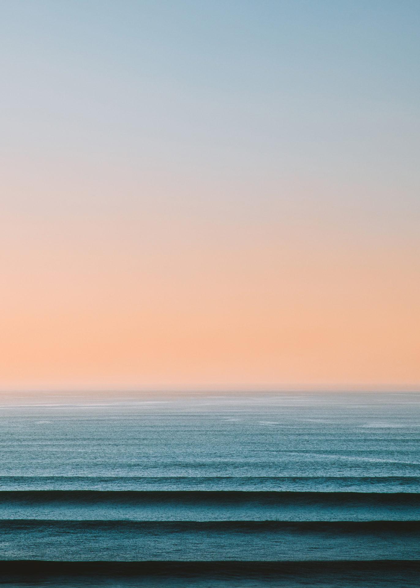 ocean au lever du soleil