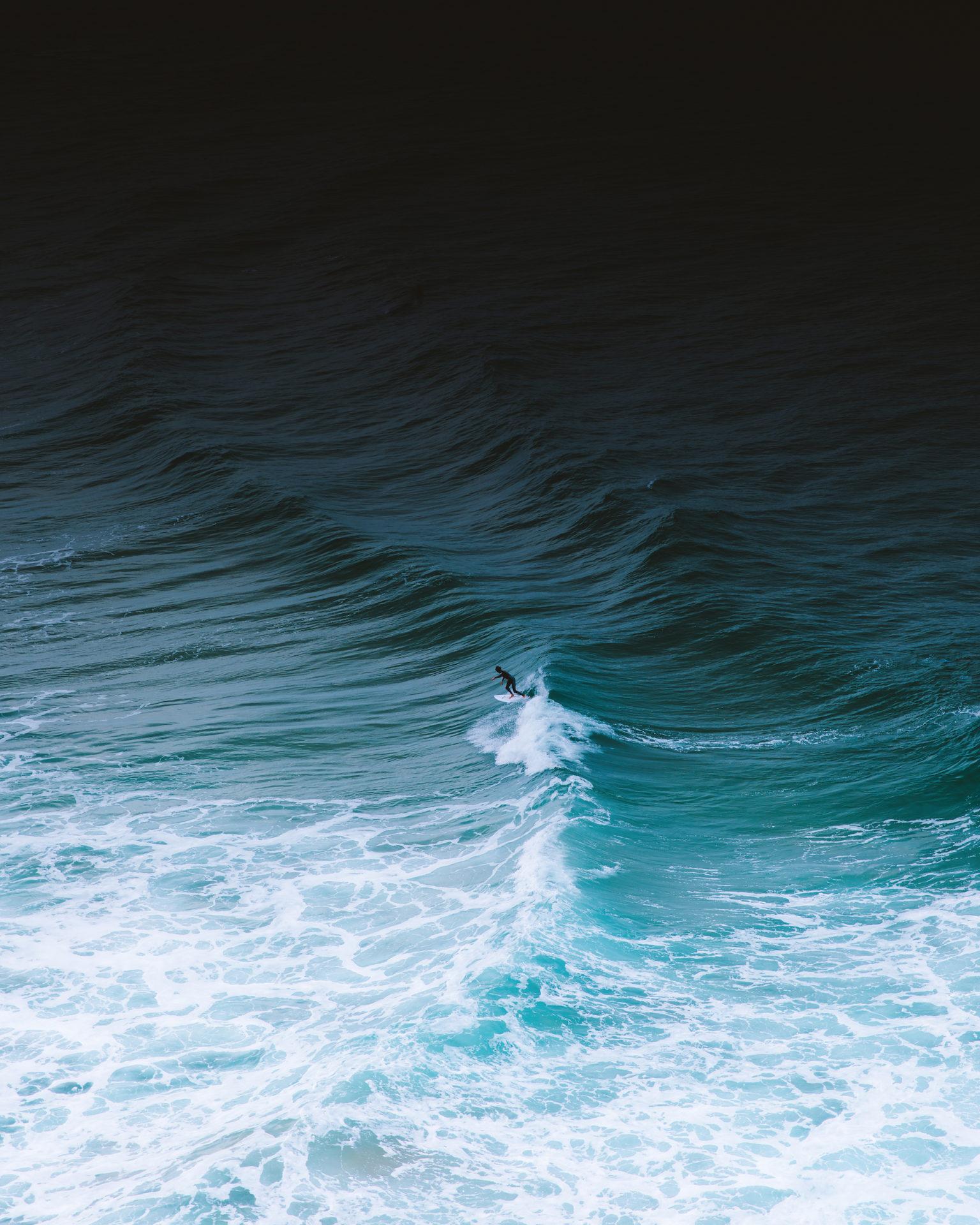 vague ocean avec ecume