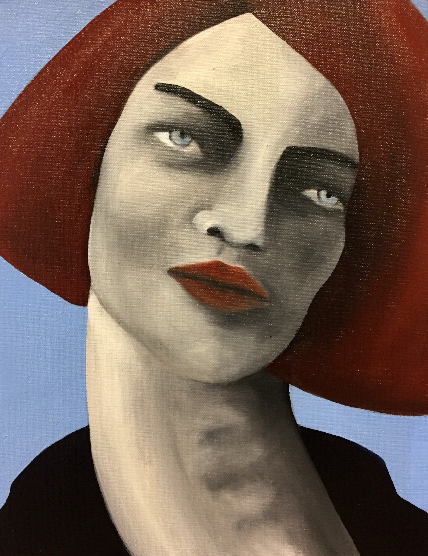 Mon rêve familier #4 femme rousse aux cheveux clairs cou