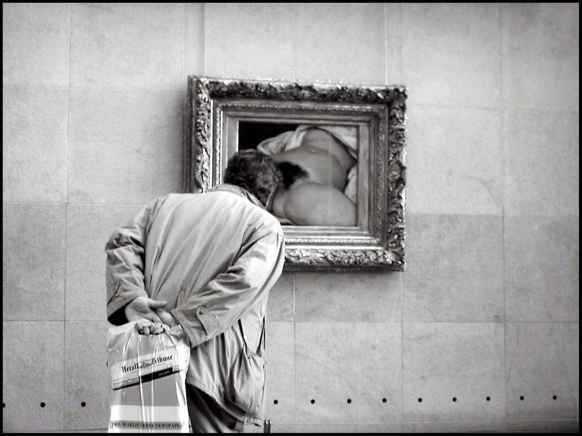 l'origine du monde courbet sexe féminin tableau Louvre scandale