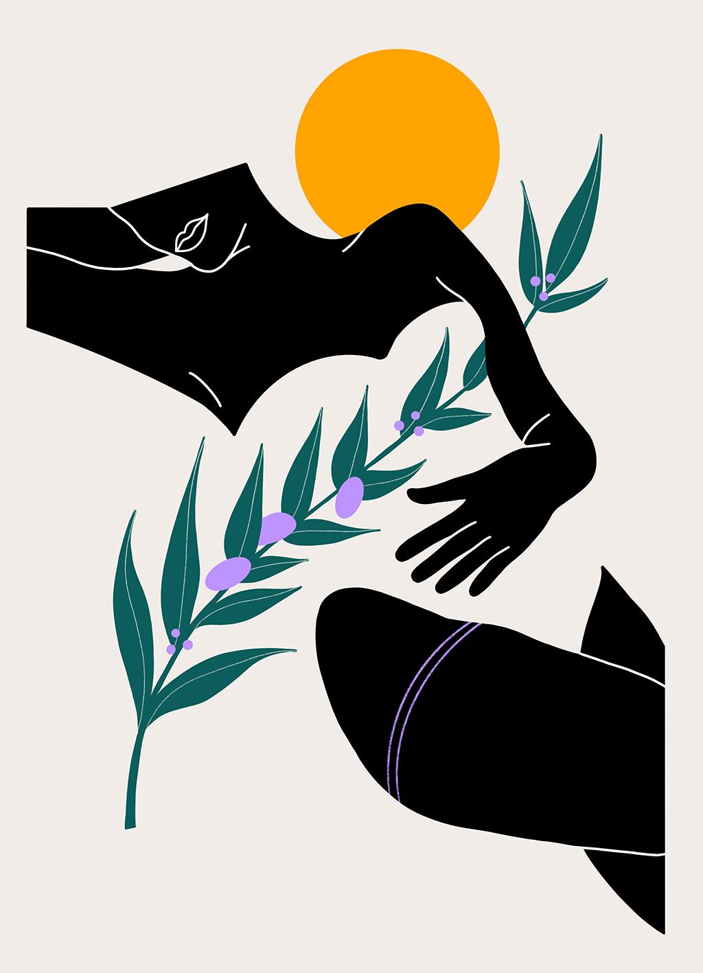 femme en maillot une pièce sous le soleil