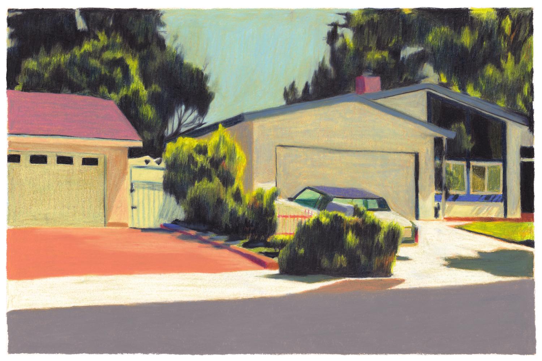 villa californienne garage voiture