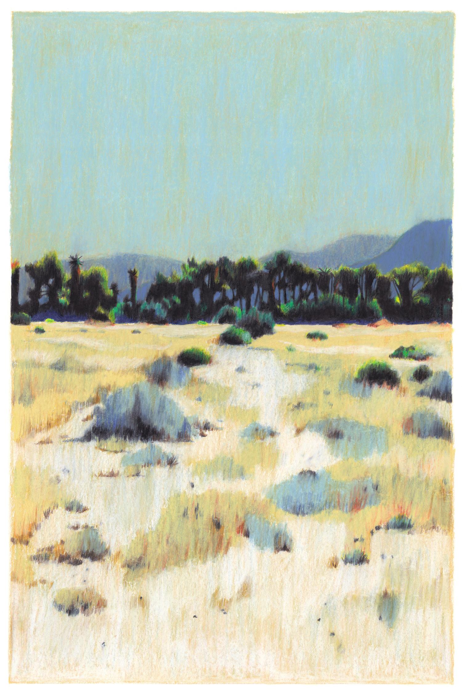 désert californie sable ciel bleu