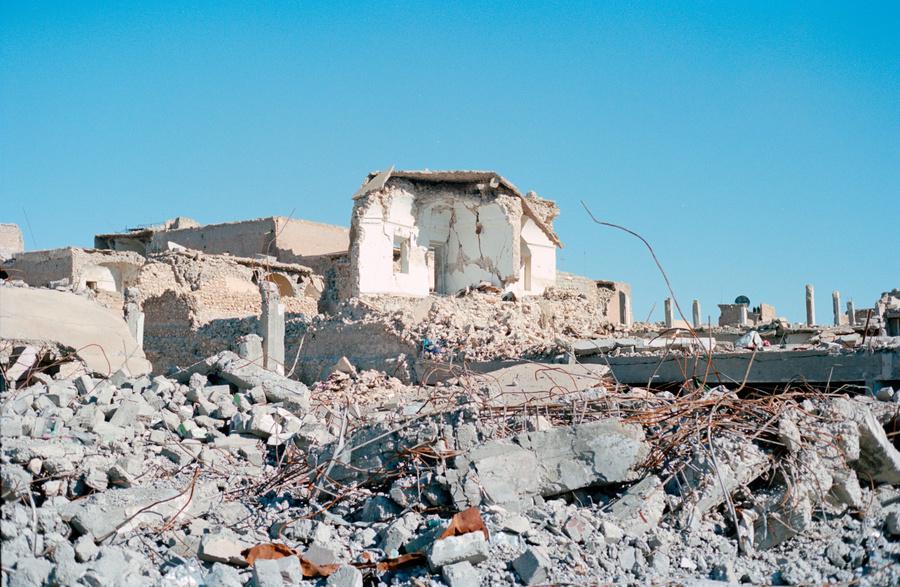 Irak guerre démolition