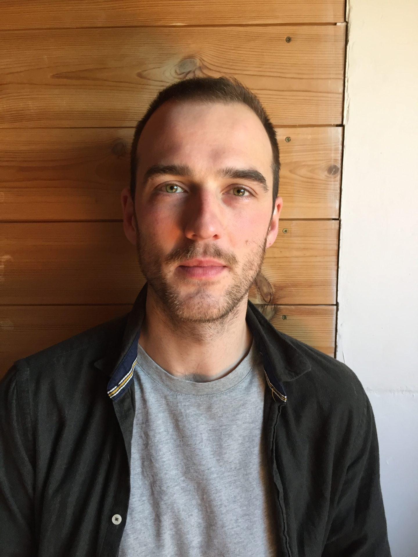 Portrait de Maxence Voiseaux